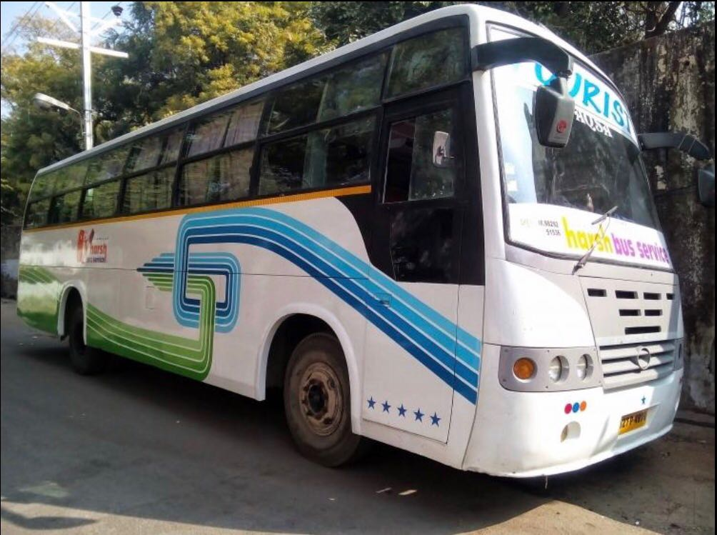 3 by 2 non ac bus 56 Seater