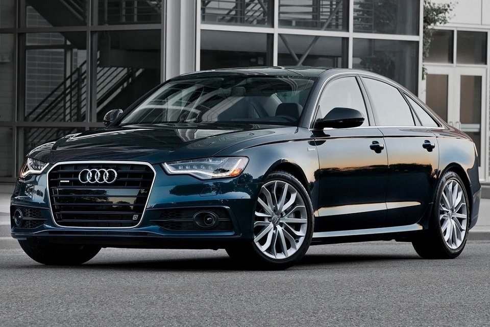 Audi a6, black