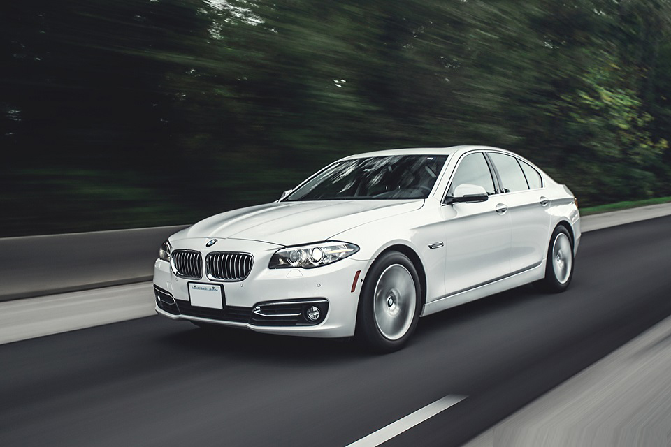 bmw 5 series white