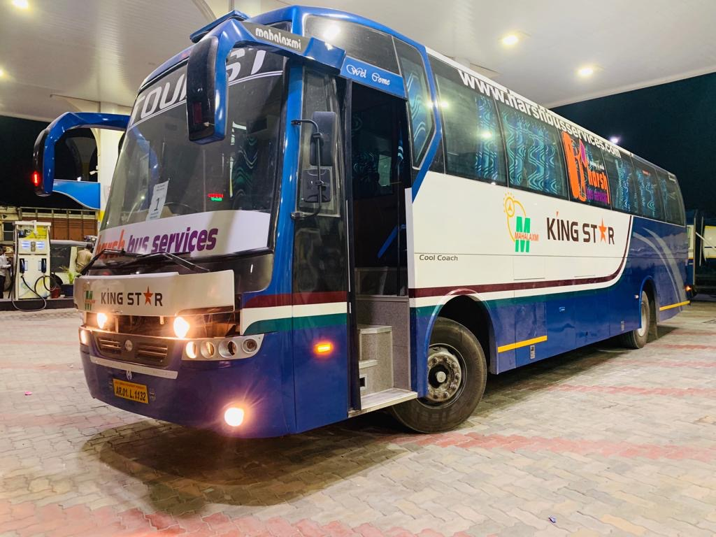 AC LUXURY 49 SEATER PACK GLASS AIR SUSPENSION COACH